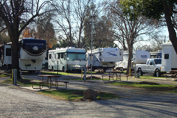 Red Bluff RV Park & Long Term RV Campground Red Bluff California